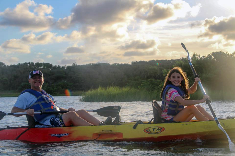 Anastasia State Park Kayak Rental