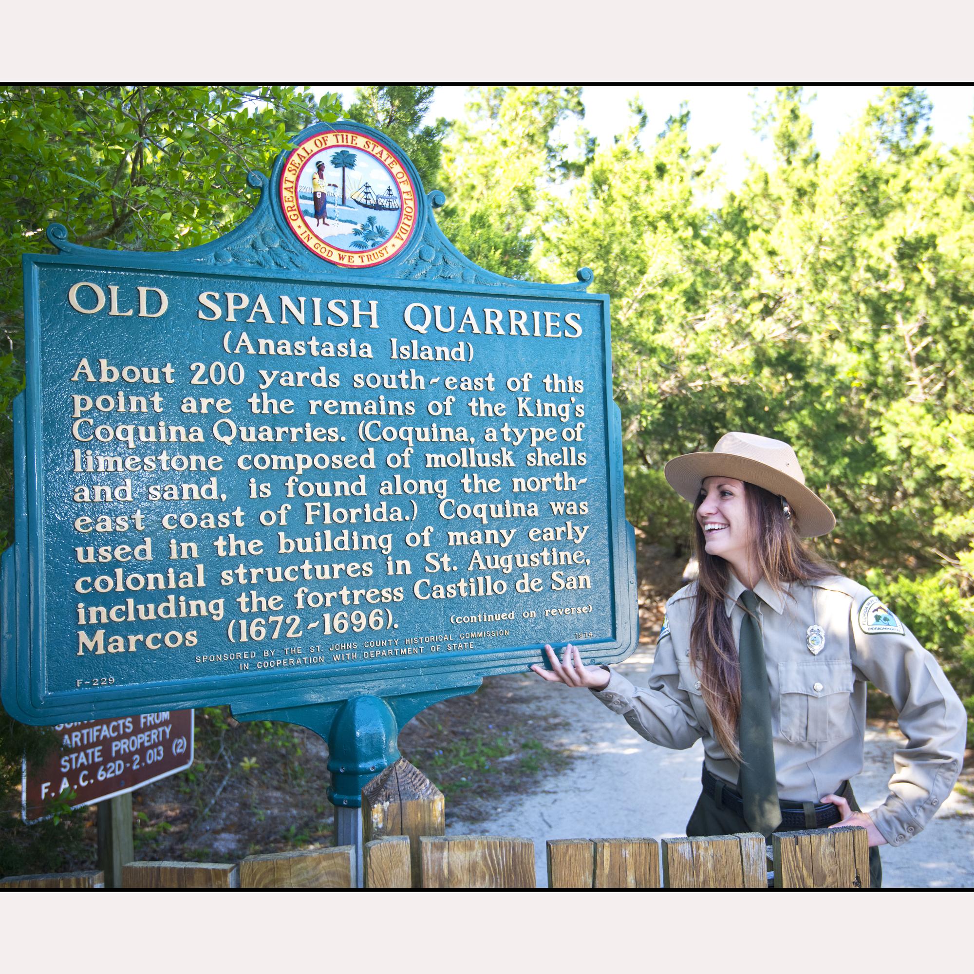 Old Spanish Quarries Anastasia Island 2000