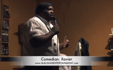 Xavier The Comedian in Action…