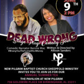 DeadWrong Stage Play/Comedy Tour