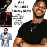 Chris Gardner & Friends Comedy Show