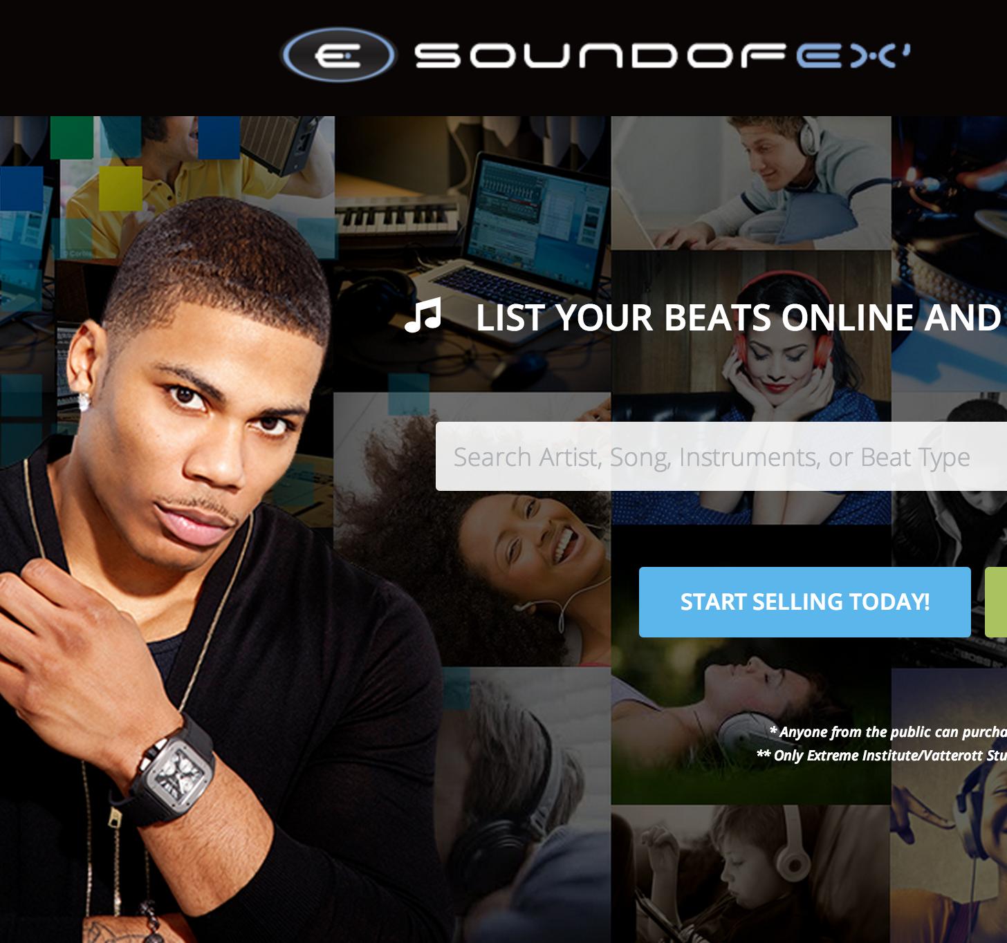 SoundofEx.com by Vatterott | Designed by Jared Ferreira