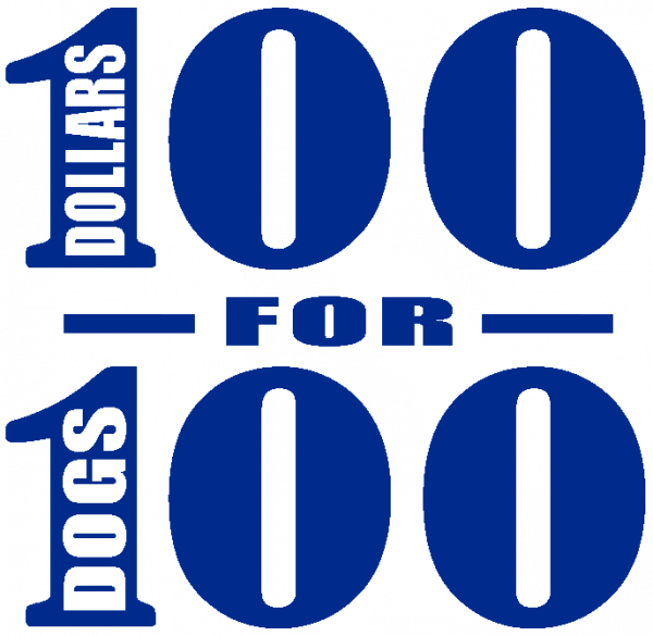 $100 for 100 Dogs
