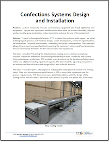 Confections Systems Design and Installation Case Study