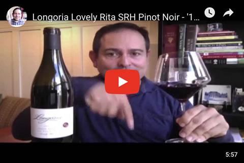 Longoria Lovely Rita SRH Pinot Noir - '12 93 Points - Episode #1687 - James Melendez