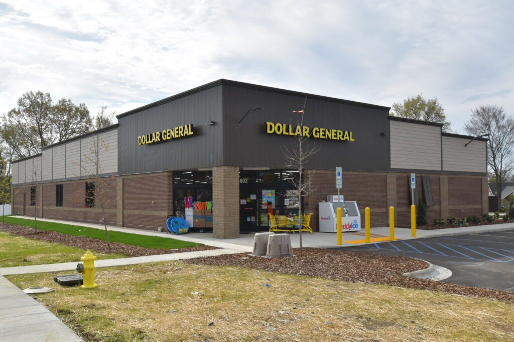 Dollar General Pitt School Rd. Concord NC