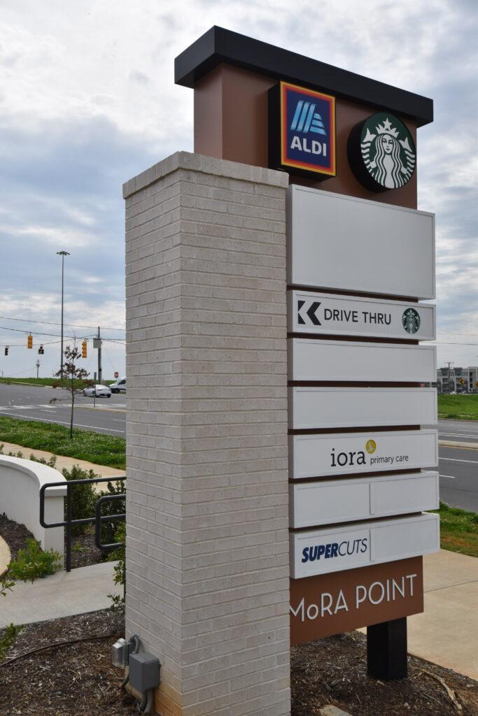 Shopping Centers Mora Pointe, Charlotte NC
