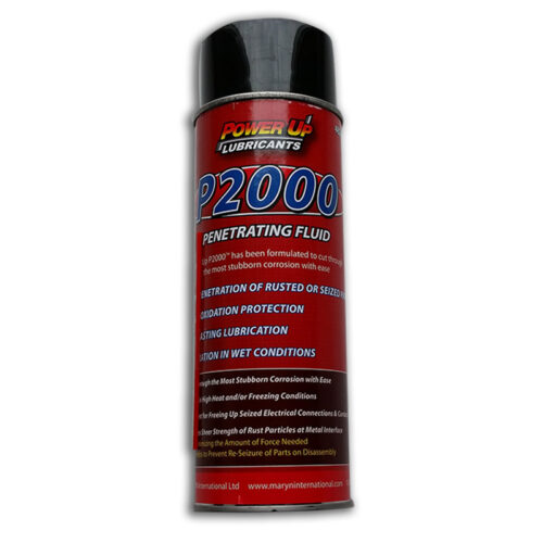 PowerUP Penetrating Fluid 2000, remove stubborn corrosion