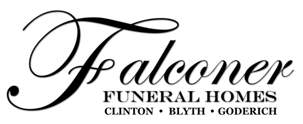 Falconer Funeral Homes logo.