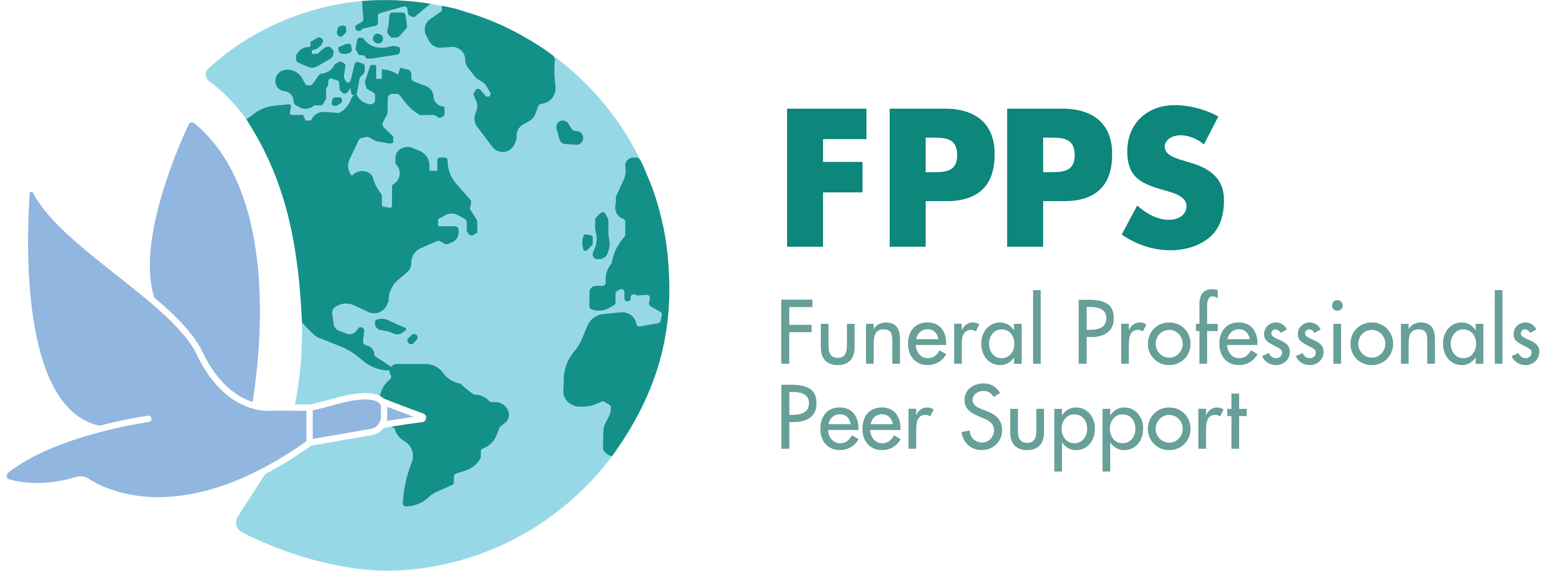 FPPS logo showing a Canadian Goose flying across the world