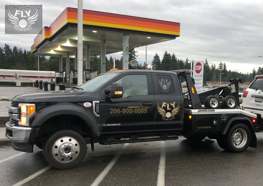 Tow Truck near Downtown Seattle