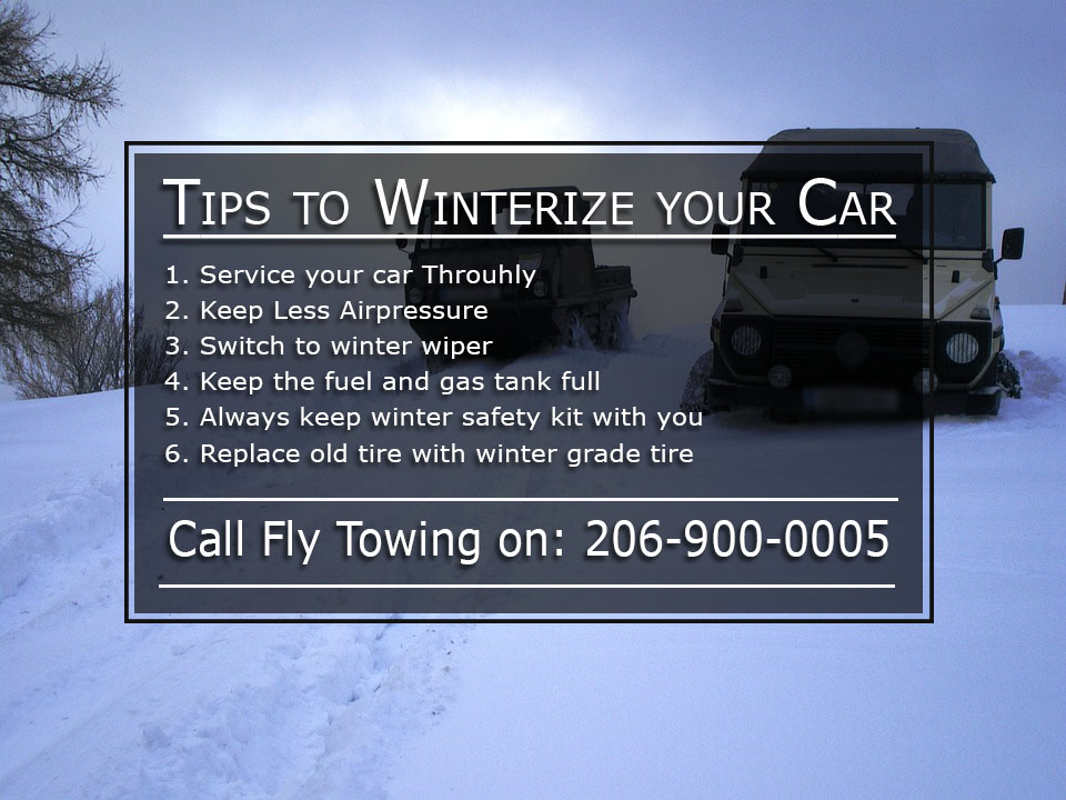 winterizing your car