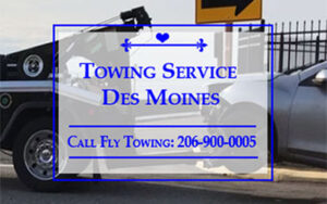 Towing Service In Des Moines