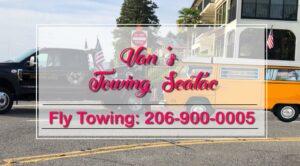 Van towing seatac