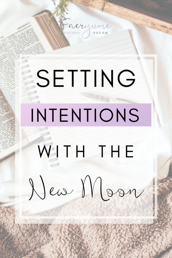 New Moon Intentions Pin