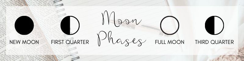 full moon as a primary moon phase