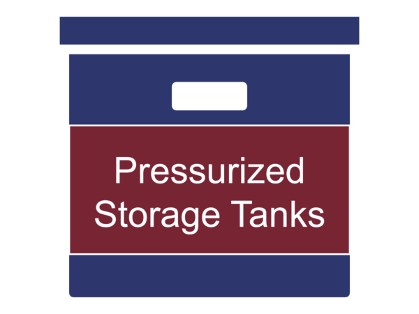Pressurized Storage Tanks