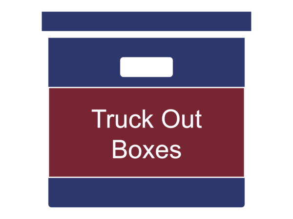 Truck Out Boxes