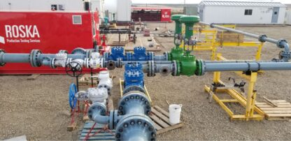 Construction of a rental process piping system