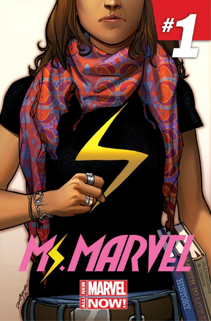 Ms. Marvel No. 1 (Courtesy of Marvel)