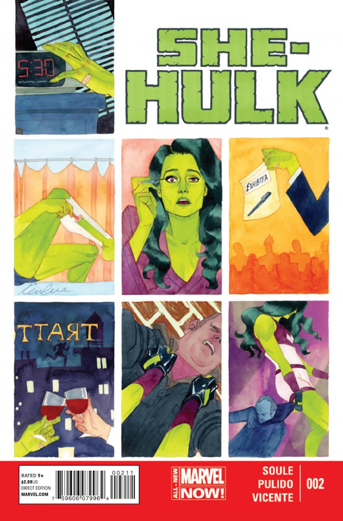 She-Hulk No. 2 (Courtesy of Marvel)