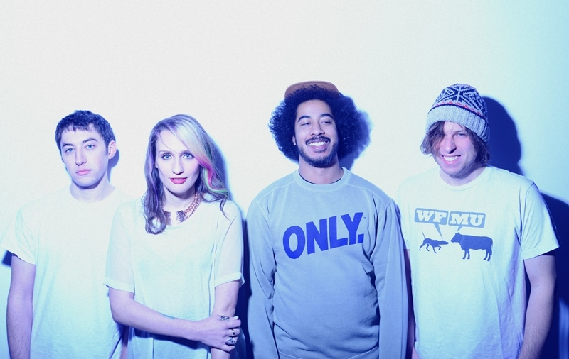Speedy Ortiz's new album, Foil Deer, is out April 21. (Shervin Lainez/Courtesy of the artist)