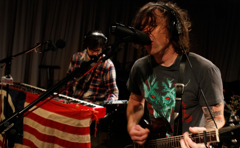 Photo Gallery: Ryan Adams, On Soundcheck