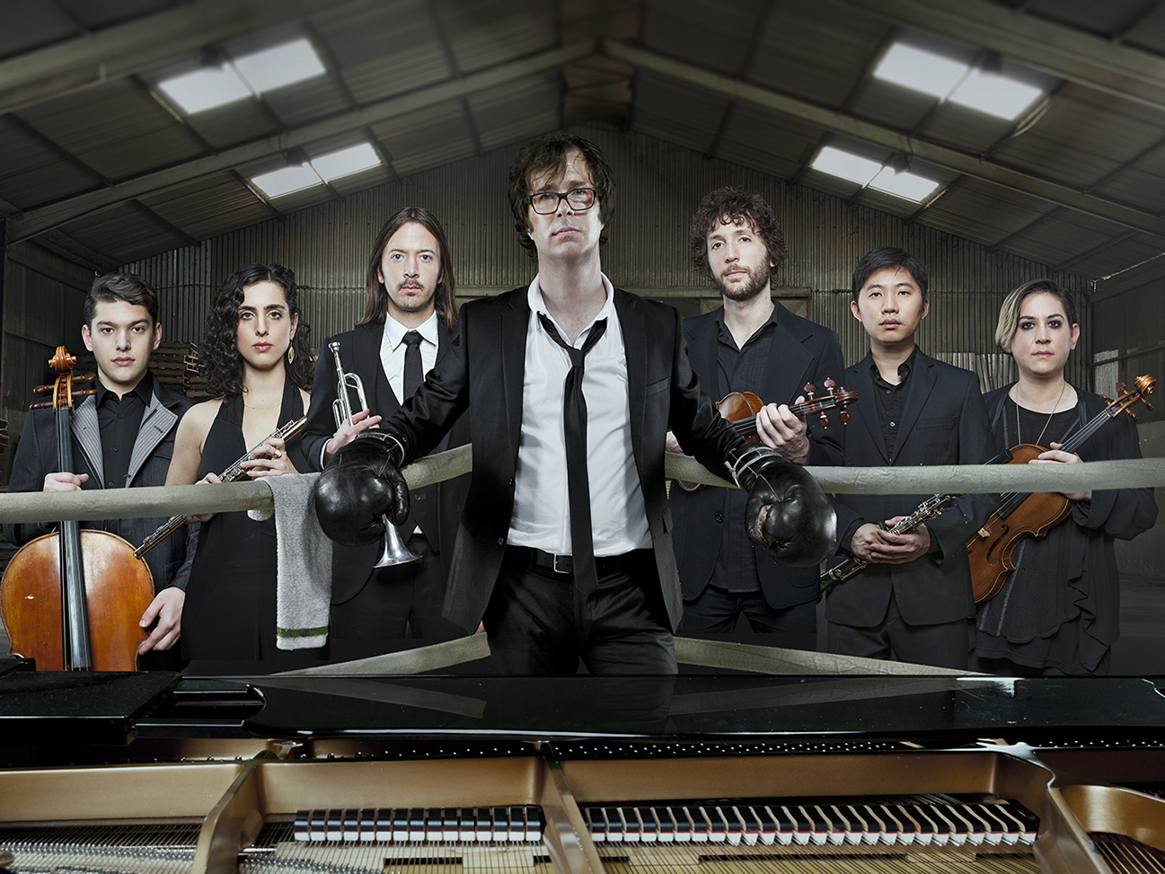 Ben Folds' <em>So There, </em> is out now. (Allan Amato/Courtesy of the artist)