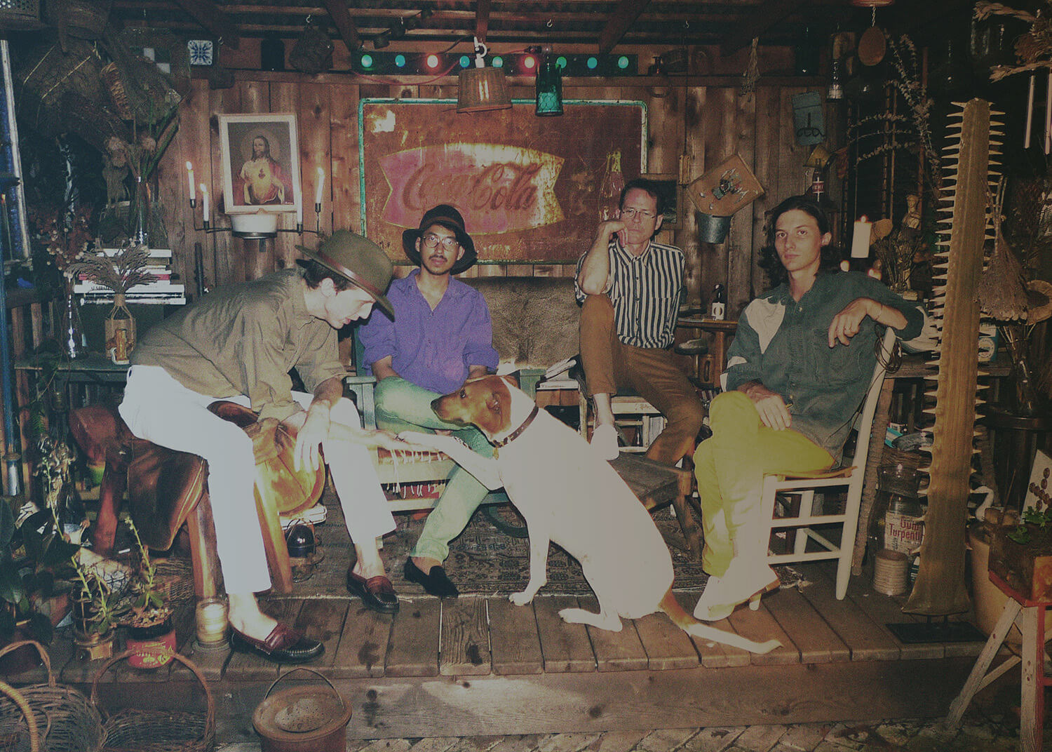 Deerhunter's Fading Frontier is out now. (Courtesy of the artist)