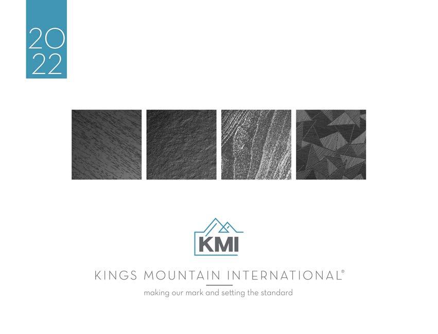 KMI's Latest Trend Booklet