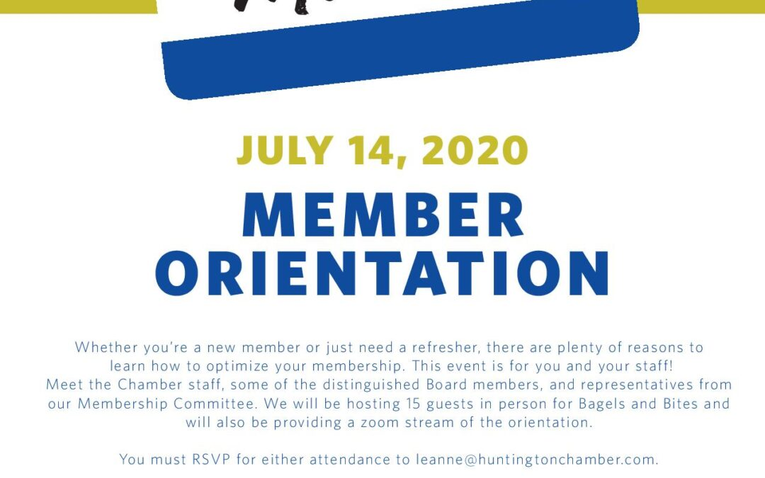 Optimize your Membership Meeting on July 14th at 8 a.m.