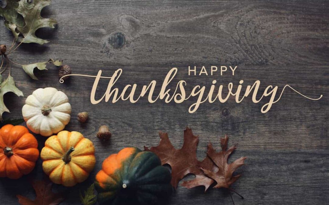 Happy Thanksgiving from the Chamber
