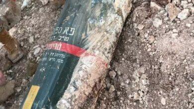 صاروخ إسرائيلي في عدشيت الجنوبية