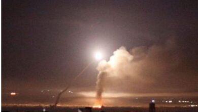 عاجل : ضربة معادية على سوريا تُرعب لبنان