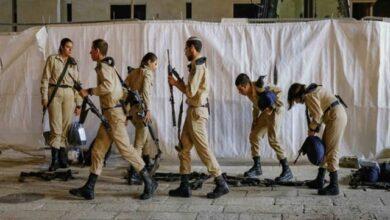 مئات الجنود الصهاينة في الحجر الصحي