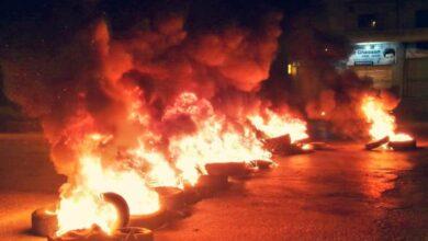 عاجل : لبنان يشهد قطع طرقات في مناطق عدة