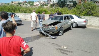 حادث سير في بلدة عدلون