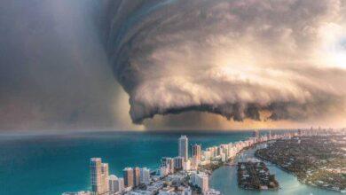 عاجل: إعصار يتوجه إلى ولاية فلوريدا