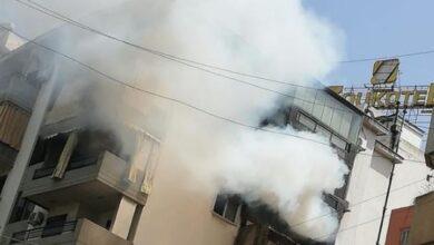حريق يودي بحياة والد ممثلة لبنانية