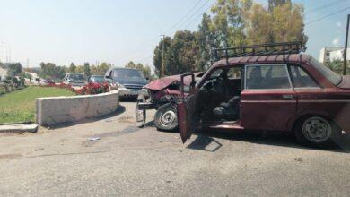 عاجل : حادث سير في الصرفند
