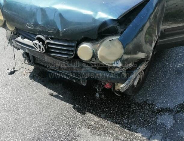 حادث سير في محلة ابو الأسود
