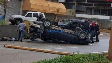 عاجل : حادث سير مروع على طريق المصيلح