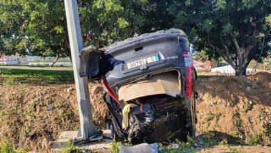 حادث سير مروع على اوتوستراد الزهراني-البيسارية