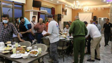 بالصور : مطعم سي فيو أقام حفل إفطار لذوي الإحتياجات الخاصة