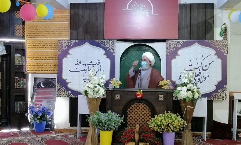 السكسكية : عودة الروح إلى المساجد بإقامة صلاة الجماعة وإحياء يوم الغدير