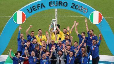 إيطاليا بطلة أمم أوروبا بعد فوزها على إنجلترا