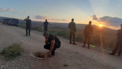 بالصور :هروب أسرى فلسطينيين من أشد السجون حراسة ...إليكم التفاصيل