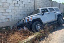 حادث سيارة على مفرق السكسكية