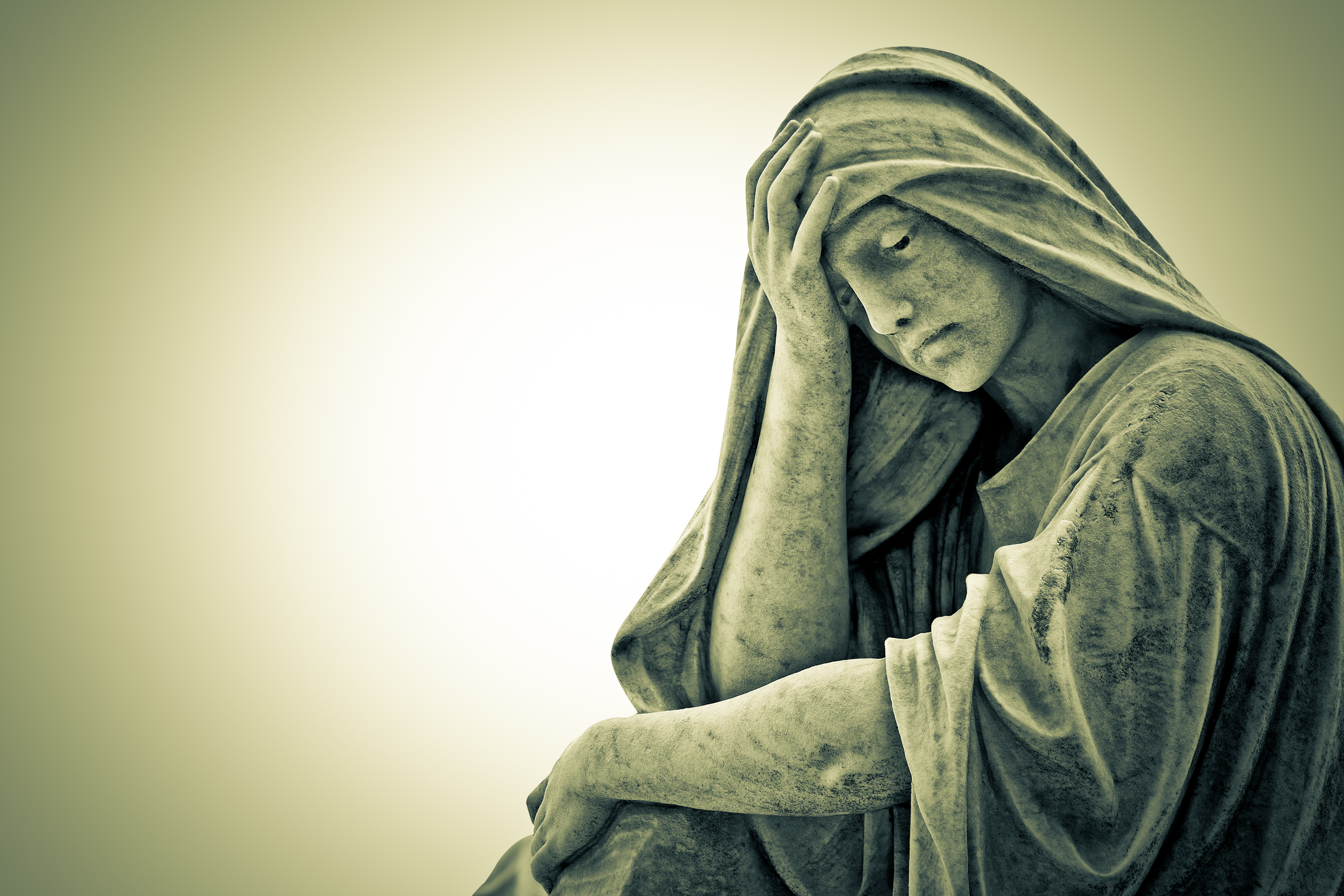 What does a mother do if her son doesn't believe in God?