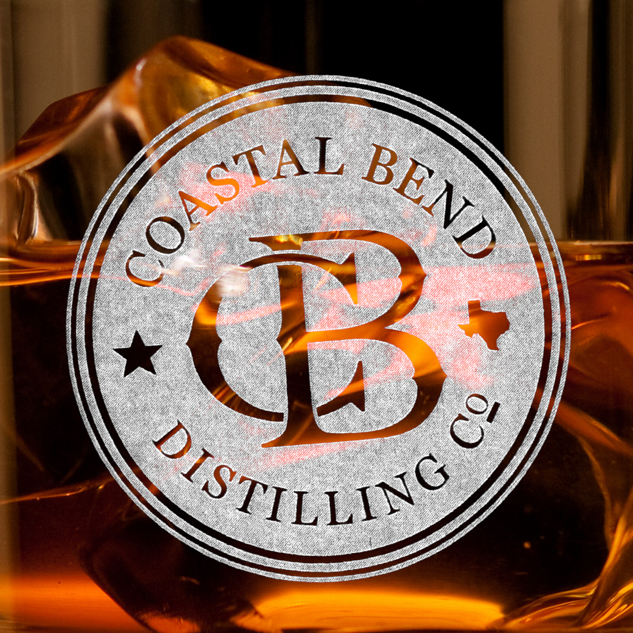 Coastal Bend Distilling Co. Visual Identity Logo Design Dylan Moore Marketing Design